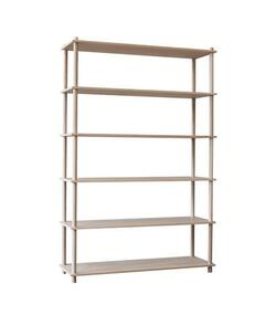 Woud Elevate shelving system 6 (Oak)