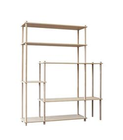 Woud Elevate shelving system 11 (Oak)