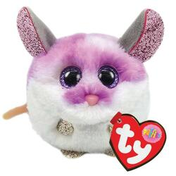 TY Puffies COLBY - purple mouse puf