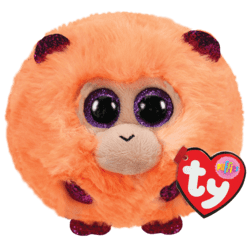 Ty Puffies Coconut - monkey puf