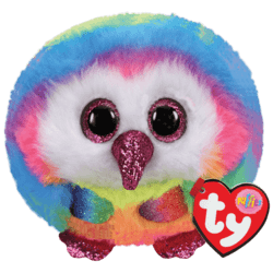 TY Puffies Owen - owl puf