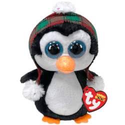 TY Beanie Boos CHEER - penguin Christmas