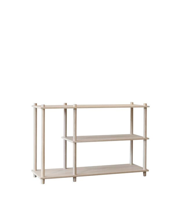 Woud Elevate shelving system 3 (Oak)