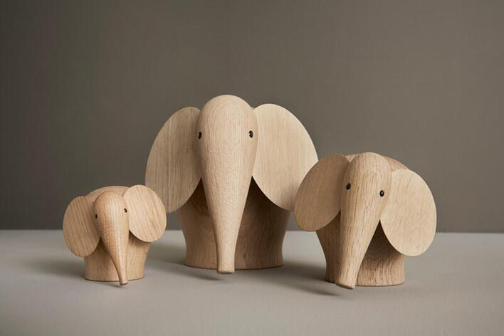 Woud Nunu Elefant - medium