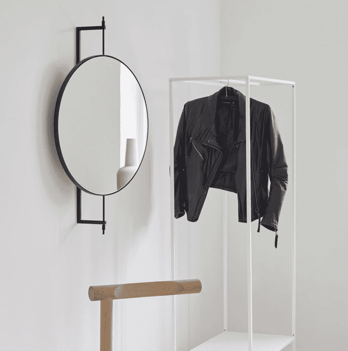 Kristina Dam Studio Rotating mirror
