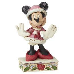 Walt Disney mini Minnie Mouse Julefigur